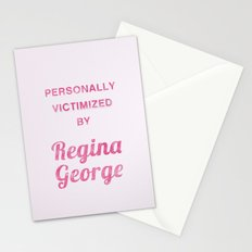 Personally Victimized by Regina George - Mean Girls movie Stationery Cards