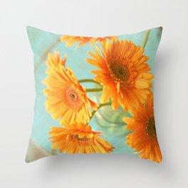 Daisy Chair Throw Pillow