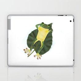 Lazy frog. Laptop & iPad Skin