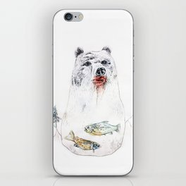 their life is not wild! iPhone Skin