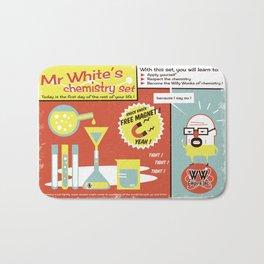 Walter White's Chemistry set Bath Mat