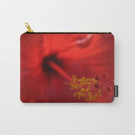 Hibiscus center puff Carry-All Pouch