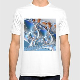 Postal service - An abstract fractal illustration T-shirt