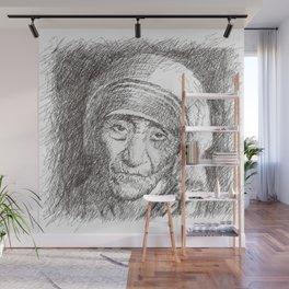 Mother Teresa Wall Mural