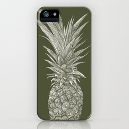 Pineapple : L'Olive iPhone Case