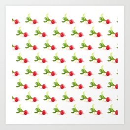 do you radish? Art Print
