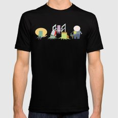 Minimal Squidbillies Mens Fitted Tee MEDIUM Black