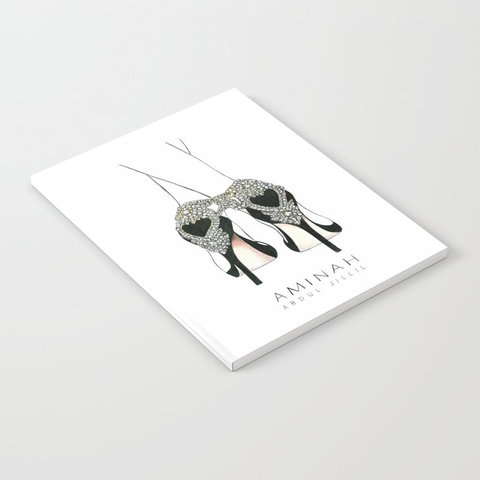 Diemond shoes Notebook