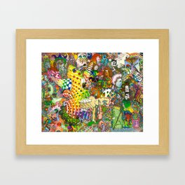 """The Formula"" Original art by bbqshoes Framed Art Print"