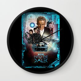 Doctor Who: Into The Dalek Wall Clock