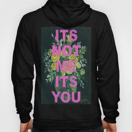 Vintage Painting Its Not Me Its You Hoody