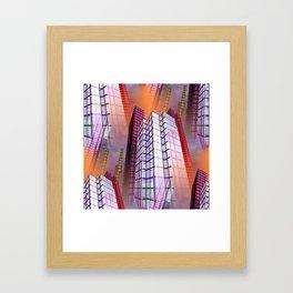 citylines -8- Framed Art Print