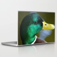 duck Laptop & iPad Skins featuring Duck by jamester42