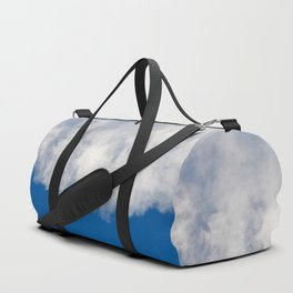 Cotton candy in blue Duffle Bag