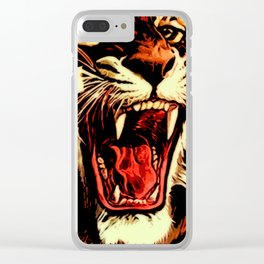 King Of Bengal Clear iPhone Case