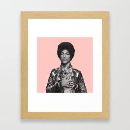 pinky prince Framed Art Print