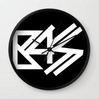 bass Wall Clocks featuring BASS by DropBass