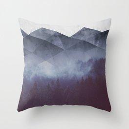 Winter Glory Throw Pillow