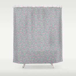 Cereal for Dinner - Geometric Shower Curtain