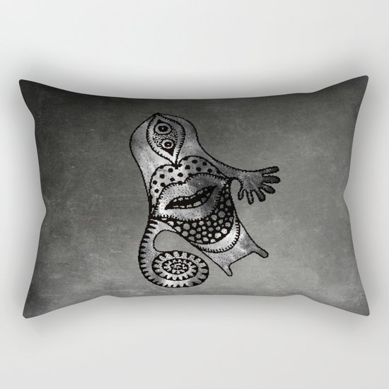 Whirlpool Hand ( HQ pixel ) Rectangular Pillow