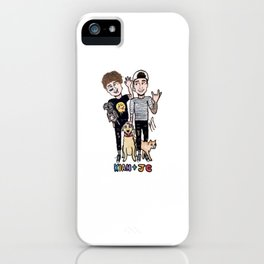 kian and jc iPhone Case