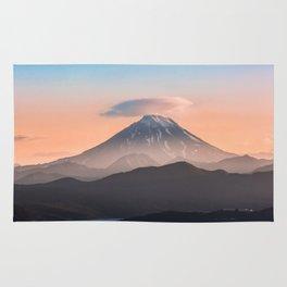 Vilyuchik volcano Rug