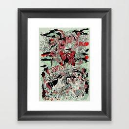 UNINVITED GARDEN Framed Art Print