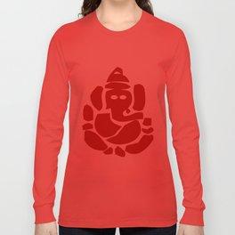 Ganesh - Hindu God Long Sleeve T-shirt