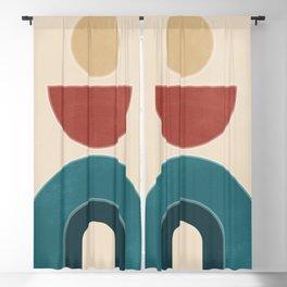 Geometric Shapes 88 Blackout Curtain