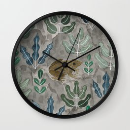 Save the frogs! Wall Clock