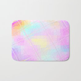 Re-Created Twisted SQ L by Robert S. Lee Bath Mat