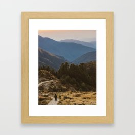 Himalaya Wanderings Framed Art Print