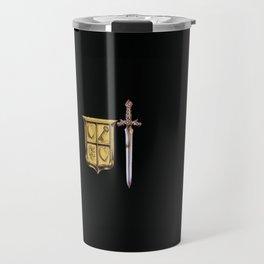 Zelda Sword & Shield Travel Mug