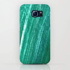sparkly teal Slim Case Galaxy S6