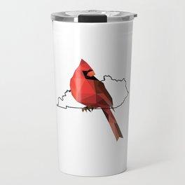 Kentucky – Northern Cardinal Travel Mug