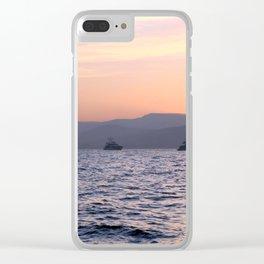 Saint Tropez 1.3 Clear iPhone Case