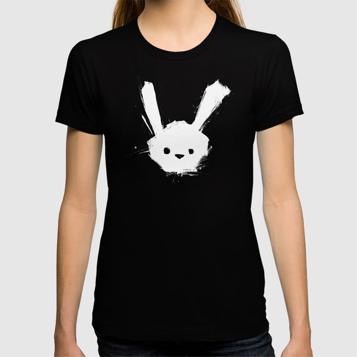 minima - splatter rabbit  T-shirt