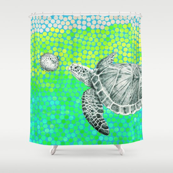 New Friends 1 by Eric Fan and Garima Dhawan Shower Curtain