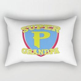 Super Grandpa Rectangular Pillow