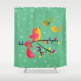 Merry Christmas, My Babies! Shower Curtain