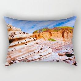 Rock Steps  Rectangular Pillow