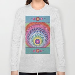 Colour Explosion Mandala Long Sleeve T-shirt