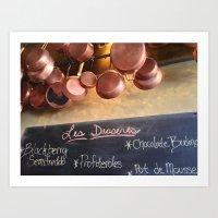 La Byciclette de France Art Print