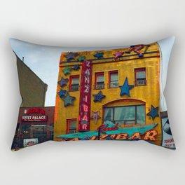 Yonge Street strip club, Toronto Rectangular Pillow