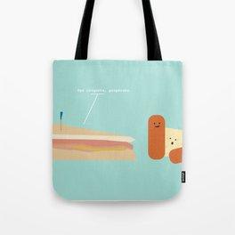 Croqueta Preparada Tote Bag