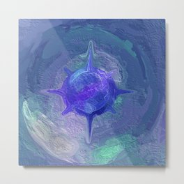 Abstract Mandala 350 Metal Print