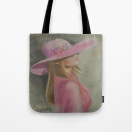 Lady in the hat Tote Bag