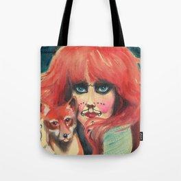 Vali Myers Tote Bag
