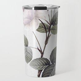 low colored rose pattern Travel Mug