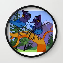 cool birds Wall Clock